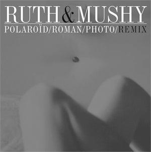 "Image of [a+w ep002] Ruth & Mushy - Polaroïd/Roman/Photo/Remix 12"""