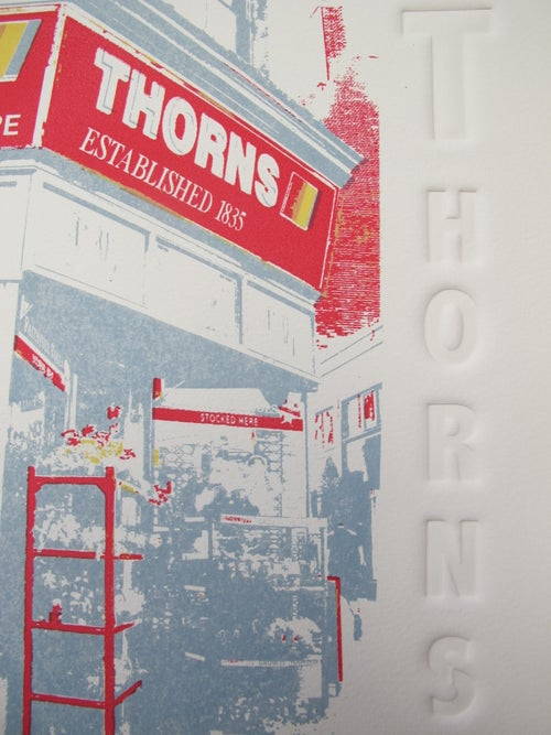 Image of T is for Thorns Print