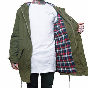Image of Unisex Woodsman Jacket - Khaki Green