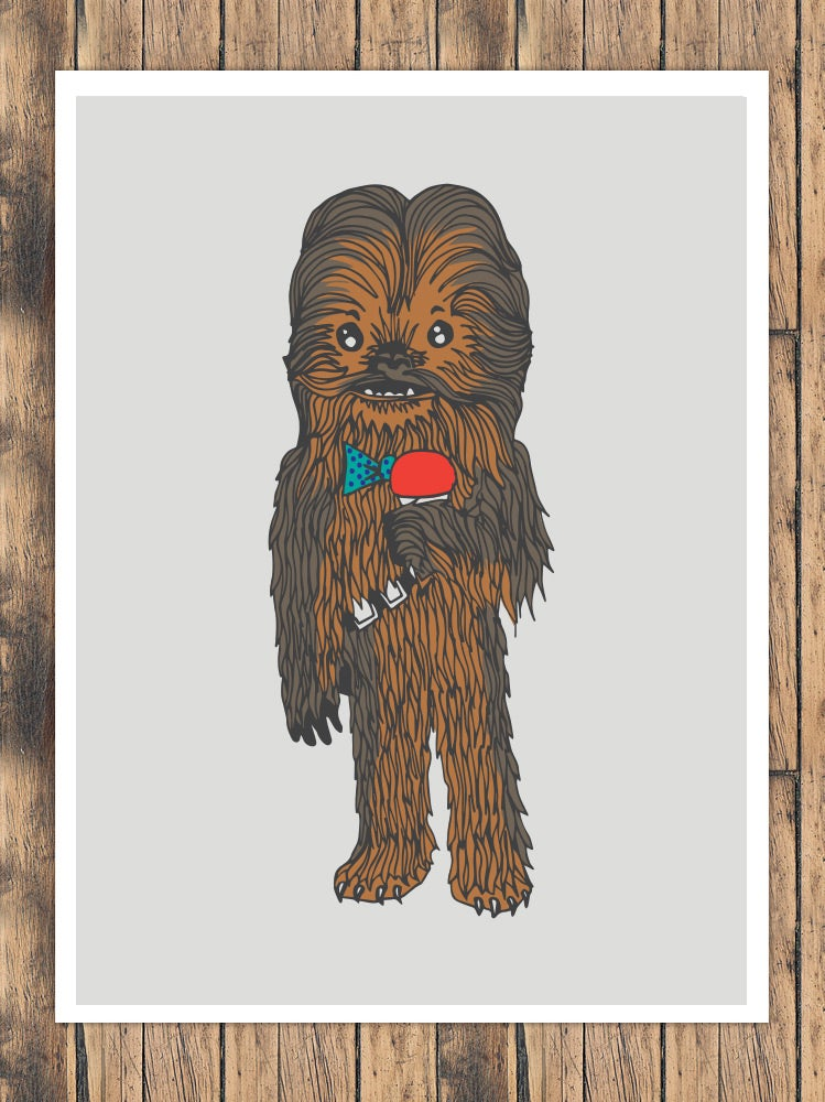 Image of Party Wookiee | PRINT