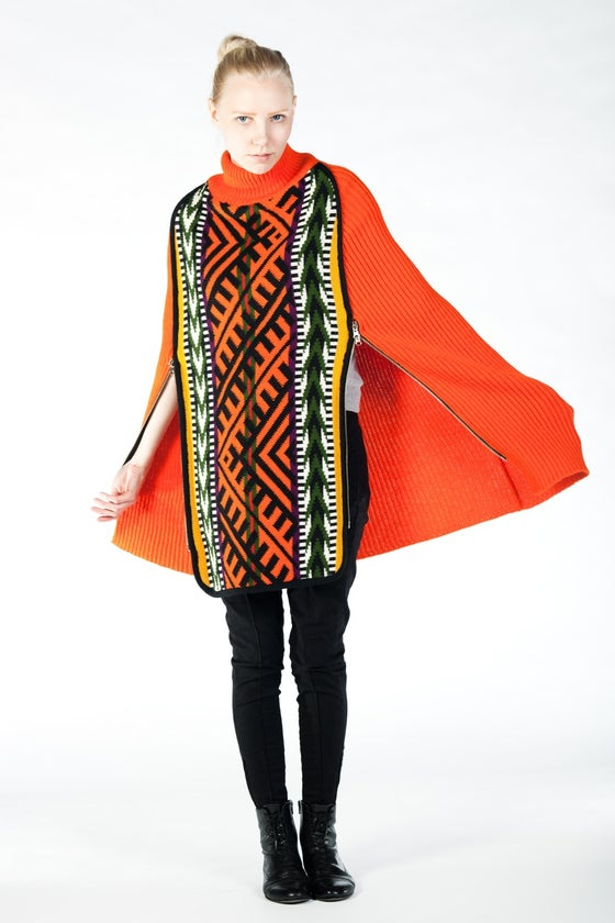 Image of EL PONCHO ORANGE