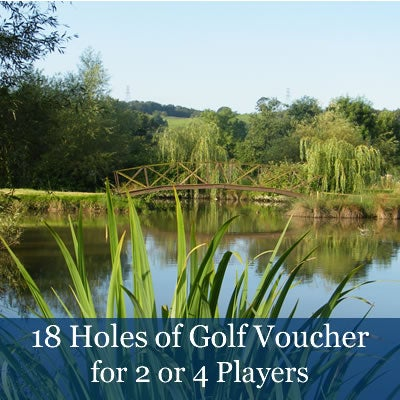 Image of 18 Holes of Golf Vouchers (£27 pp)