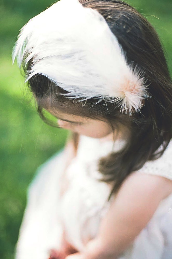 Image of The Lily Rose   Headpiece