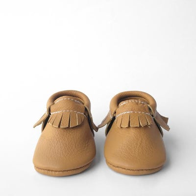 Image of (Pre-Order) Marigold Leather Moccasins