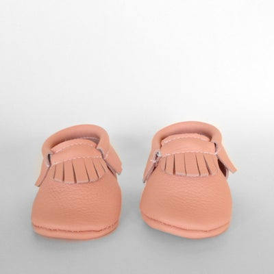 Image of (Pre-Order) Pink Ladies Leather Moccasins
