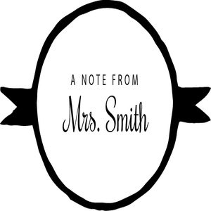 Image of A Note From Personalized 1