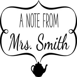 Image of A Note From Personalized 3