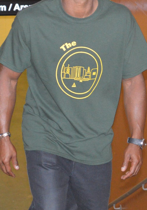 Image of Green & Yellow Tee