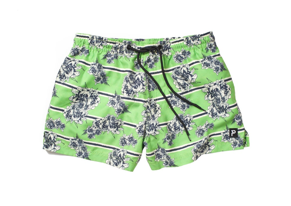 Image of FLORAL BEACH SHORT