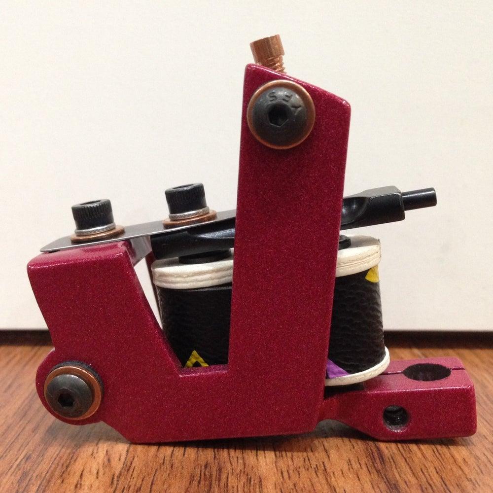 Image of pink upright liner