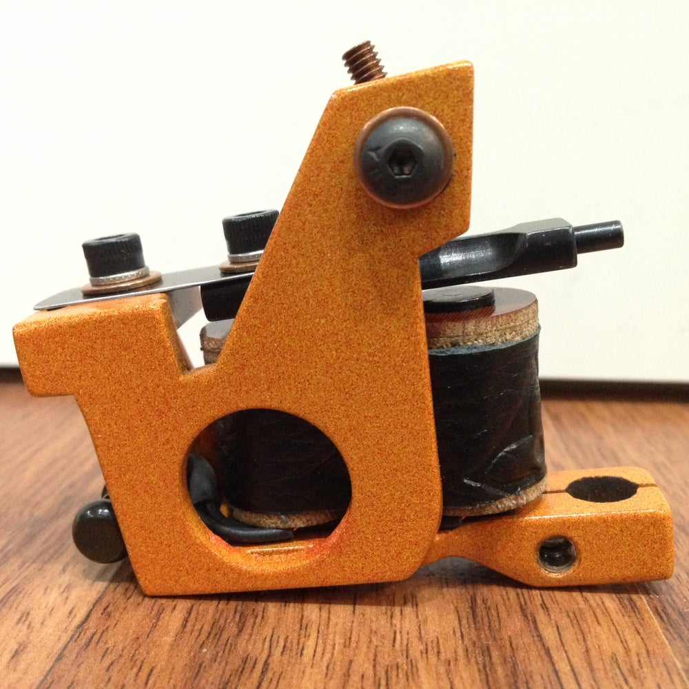 Image of orange mini keyhole