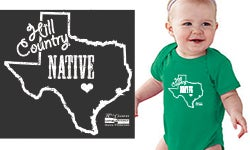 Image of Hill Country Native Onesie