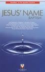 Image of Jesus' Name Baptism - Tract