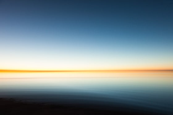 Image of Sunset at the Great Salt Lake
