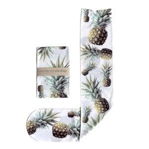 Image of White Pineapple Socks