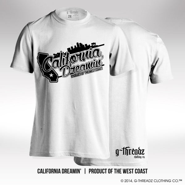 Image of G-Threadz Clothing Co. - CALIFORNIA DREAMIN' (Tee)