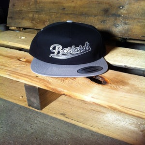 Image of Bastards black / grey snapback