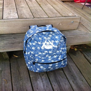 Image of Blaze Denim backpack