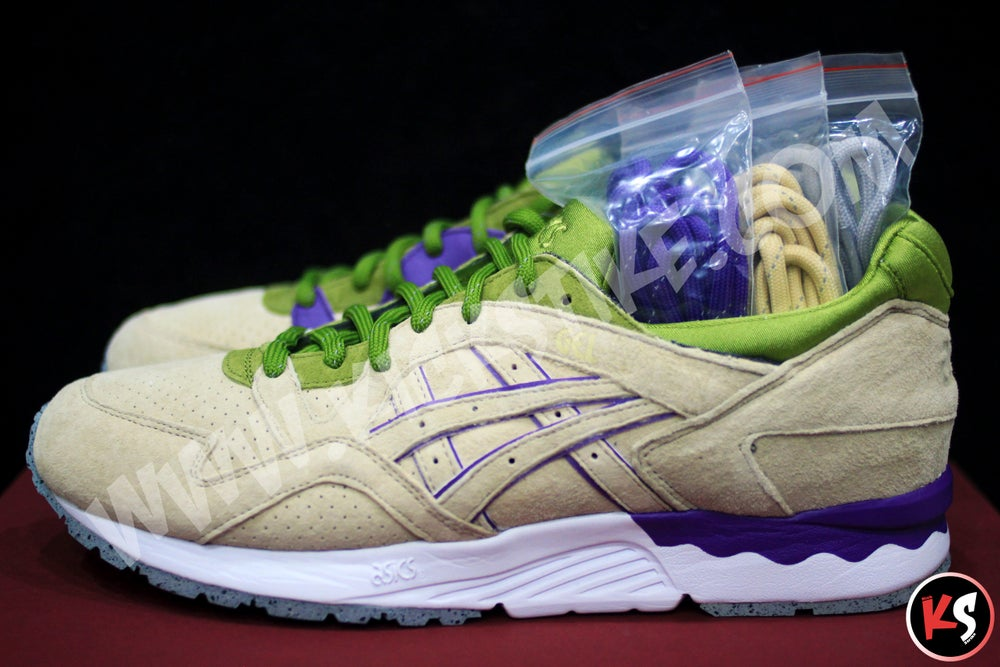 """Image of CNCPTS x Asics Gel Lyte V """"Pistachio"""" (Concepts Special Edition)"""