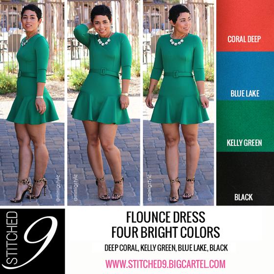 Image of Flirty Flounce Mini-Dress