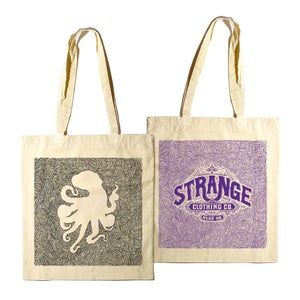 Image of Strange Tote Bags (2 designs!)