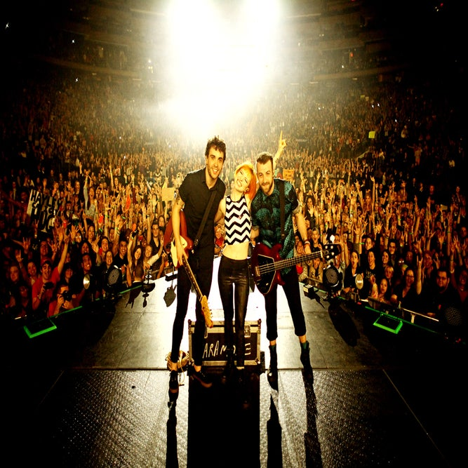 Image of Paramore MSG/NYC onstage photograph print by Ryan Russell