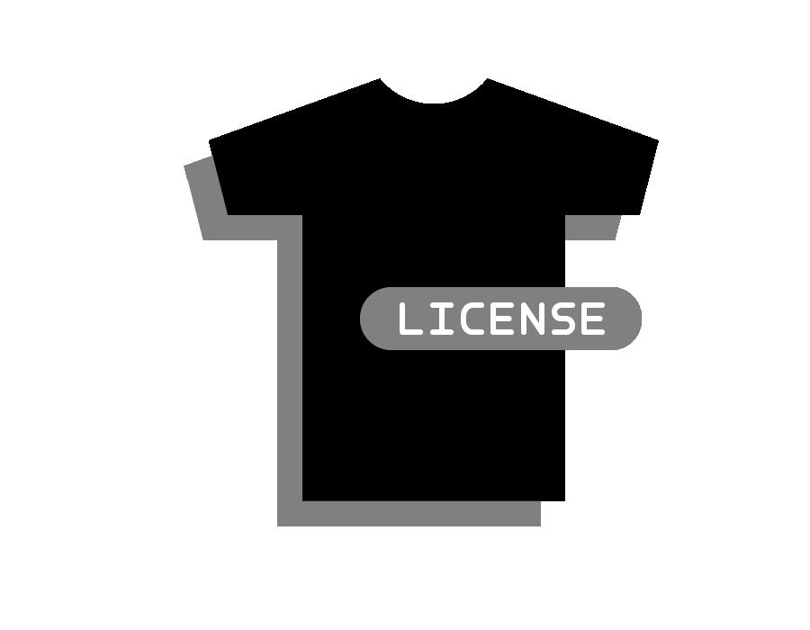Image of T-Shirt Art License