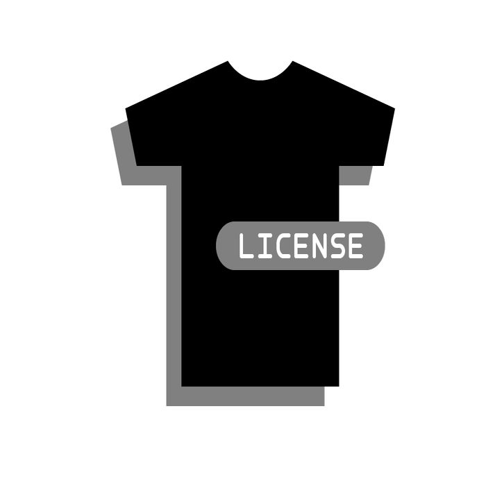 Image of T-Shirt Art License