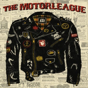 Image of The Motorleague - Gig Poster