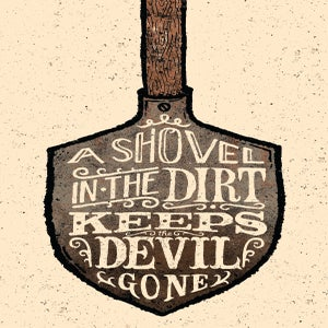 Image of Shovel in the Dirt
