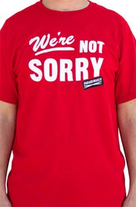 Image of We're Not Sorry