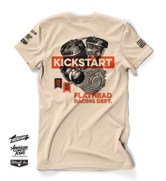 Image of Kickstart Flathead Racing Dept. Shirt