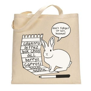 Grocery List Tote