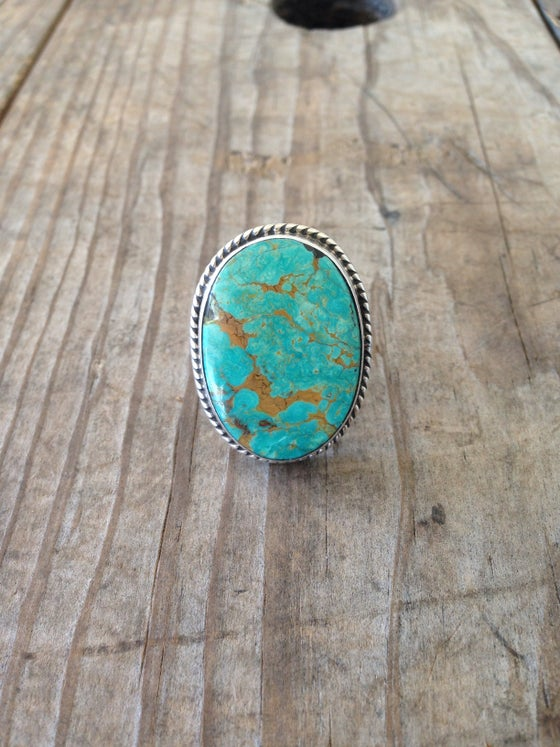 Image of The Perfect Vintage Turquoise Ring