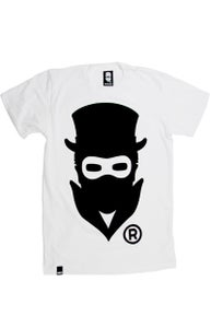 Image of Masked Logo (White) (Mens)