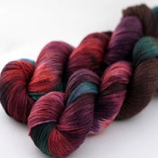 Image of Poison Apple - Merino/Cashmere/Nylon Sock Yarn