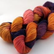 Image of Black Amber - Superwash BFL/Nylon Sock Yarn