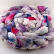 Image of Phlox - Superwash Merino/Cashmere/Silk Wool Top/Roving