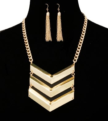 Image of Sassy Military Necklace