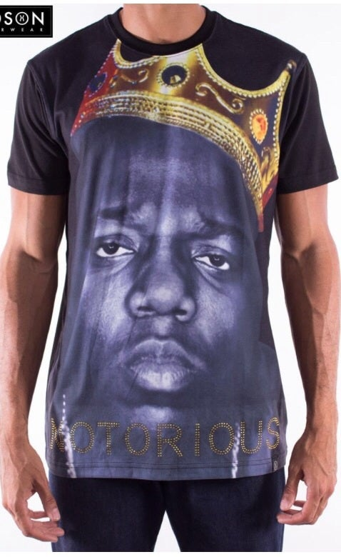 Image of HUDSON NYC BLACK Brooklyn King Thermo Knit Short Sleeve Shirt