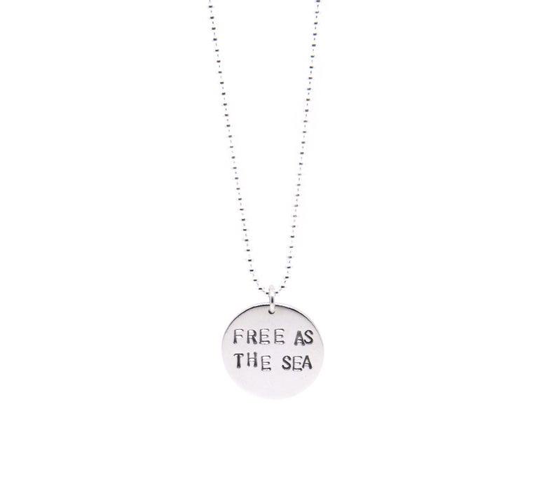 Image of Free As The Sea Necklace