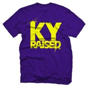 Image of Ky Raised in Purple & Yellow