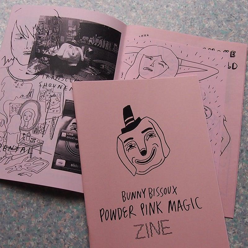 Image of  POWDER PINK MAGIC ZINE - by Bunny Bissoux