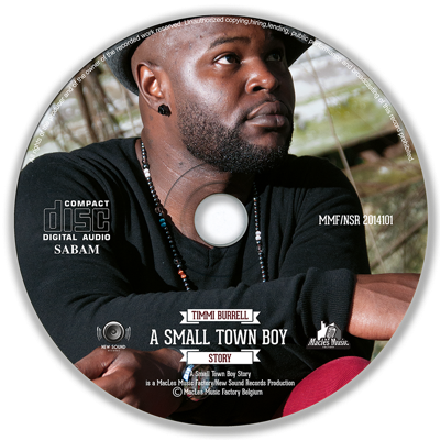 Image of Timmi Burrell - A Small Town Boy Story CD