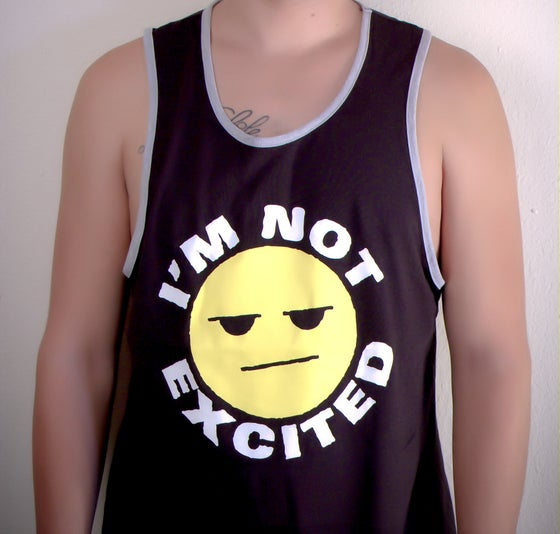 Image of Not Excited Tank - Black