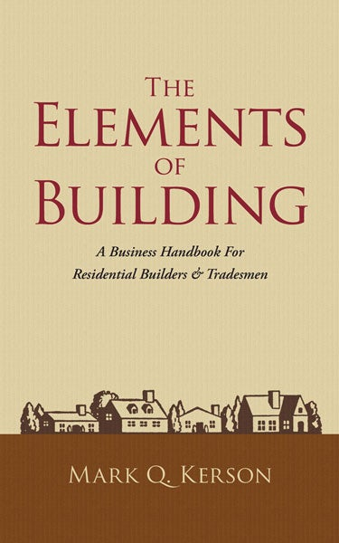 Image of The Elements of Building