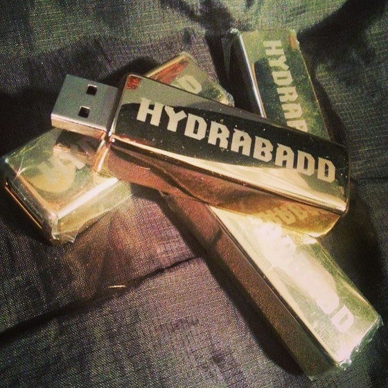 Image of Gold Bar Discography Flash Drive (8GB)