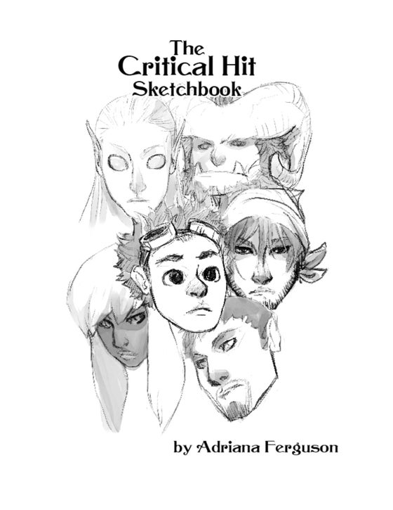 Image of Critical Hit Sketch Book
