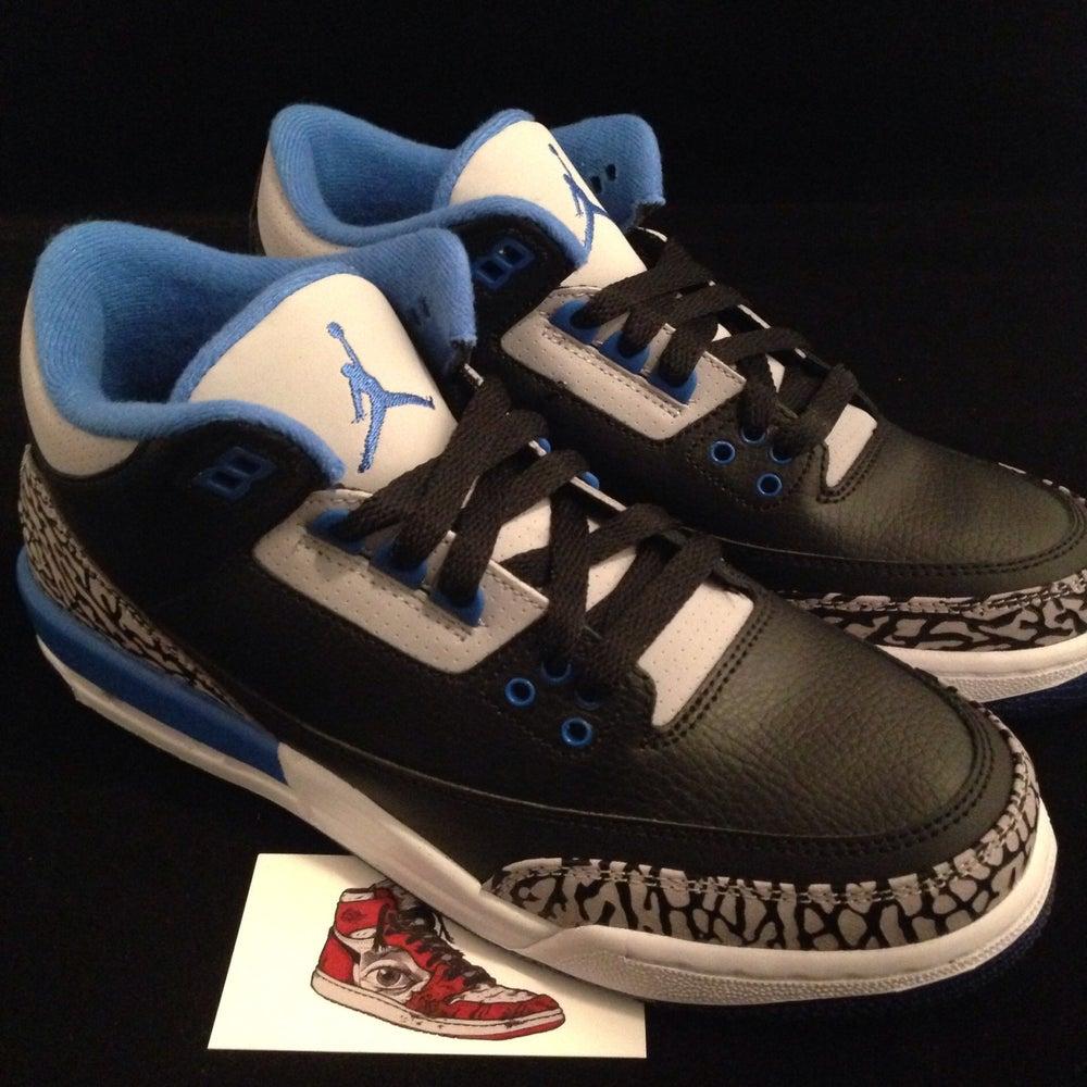 "Image of Air Jordan 3 ""Sport Blue"" GS"
