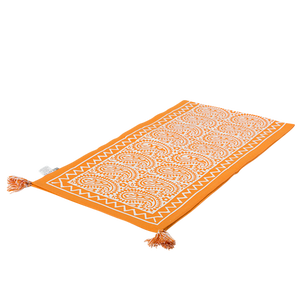 Image of Printed Tablerunner (Orange)